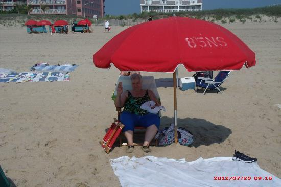 Holiday Inn Ocean City : Beach, hotel background