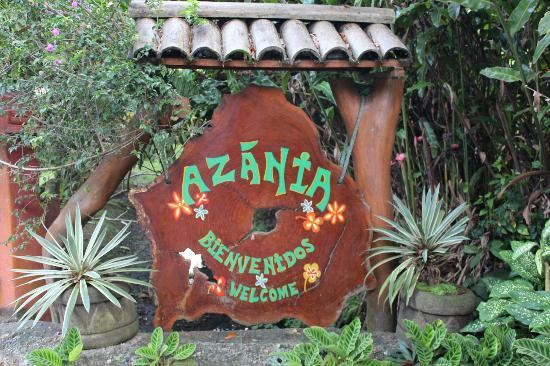 Azania Bungalows: Enterance