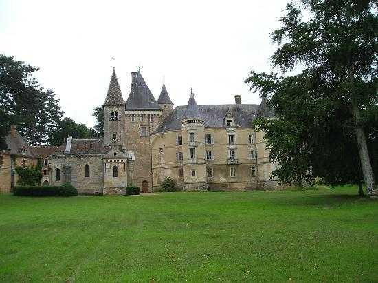 Chateau de Bresse sur Grosne: Façade nord