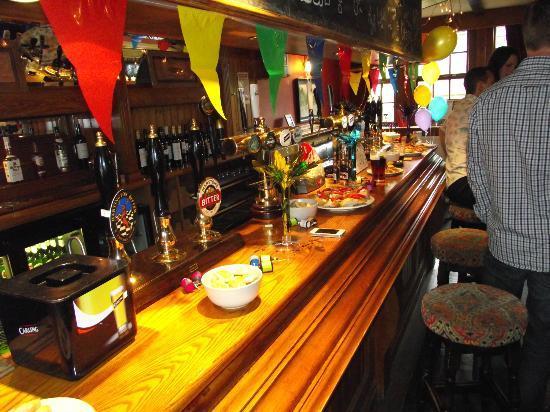 The Crewe & Harpur: The bar