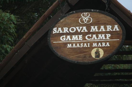 At The Entrance Picture Of Sarova Mara Game Camp Maasai