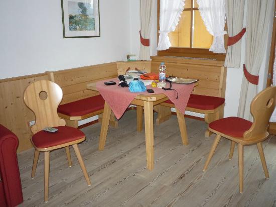 Hotel Gasserhof : Dining Corner