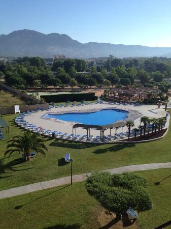 Hotel Mediterraneo Park and Hotel Mediterraneo : Beautiful balcony view