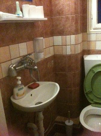 "Go2 Hostel Belgrade: Toilet and ""shower"""