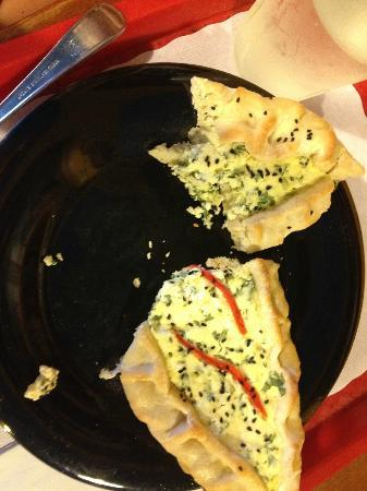 Sanaa s Gourmet Mediterranean: 3 cheese Fatayer