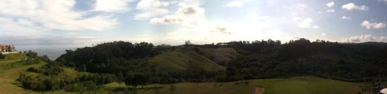 abba Comillas Golf Hotel: vista panoramica desde la ventana