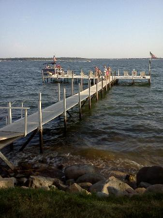 Inn at Okoboji: Dock