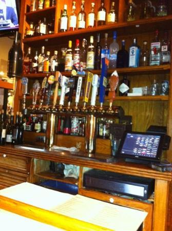 White Dog Cafe: the bar