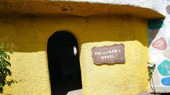 Flintstone's Bedrock City: Policeman's House