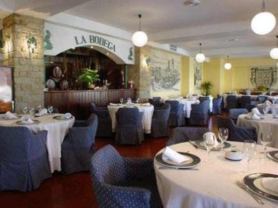 Las Ciguenas: restaurant
