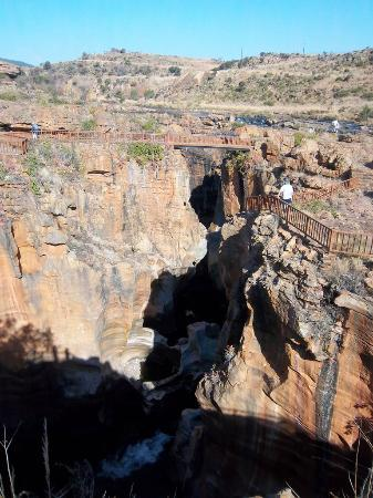 Hiking around Bourke's Luck Potholes - Panorama Route stop out of Graskop