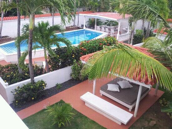 Bravo Beach Hotel: Vista desde la terraza.