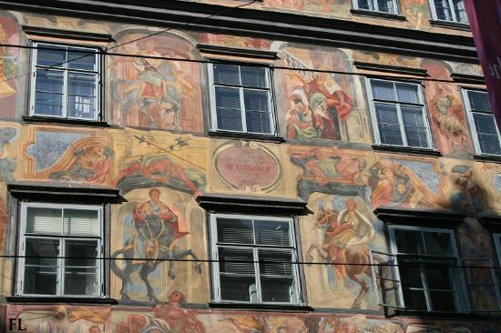 Altstadt von Graz: Herzogshof am Hauptplatz