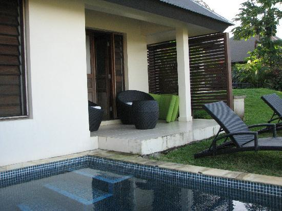 Mangoes Resort: Lagoon view bungalow
