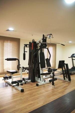 Arabian Dreams Hotel Apartments: Health club