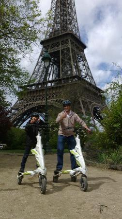 Paris Trikkes: Paul and Trent Trikking around Paris