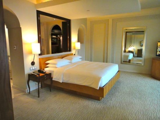 Park Hyatt Dubai: fantastisches Bett