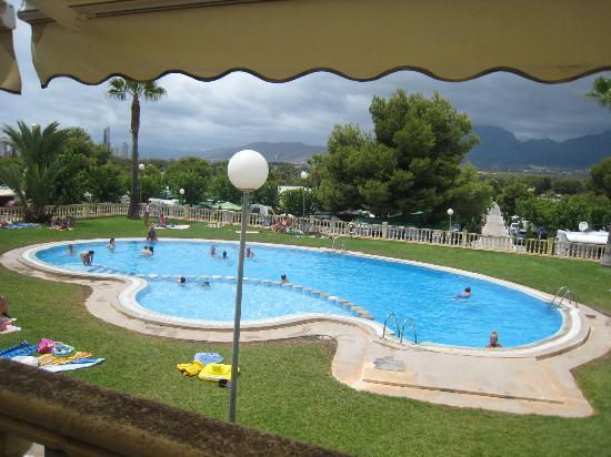 Camping Raco: the pool