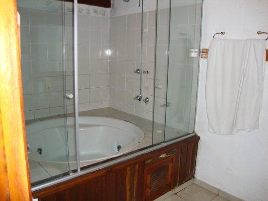 Dourado, SP:                   BANHEIRO (MADEIRA APODRECENDO E MOFO)