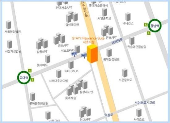 Stay 7 Seocho-Dong: Map