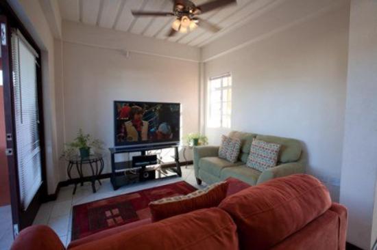 Augusta's Apartments : Livingroom