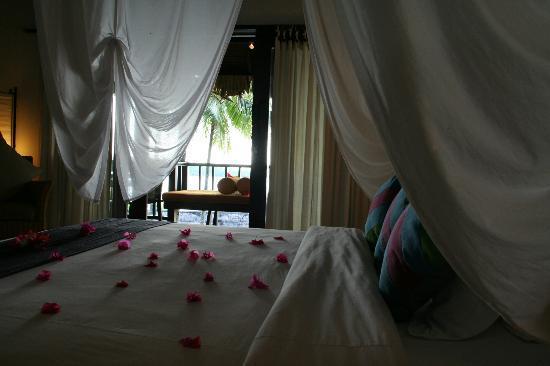 Kima Bajo Resort & Spa, Manado: Pemandangan kamar ketika kami pertama kali datang