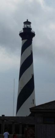 Cape Pines Motel : cape hatteras light house