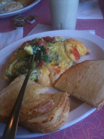 Eagle Diner: omelette