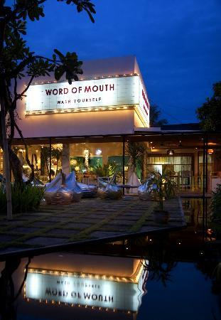 WORD OF MOUTH: WOM Outside