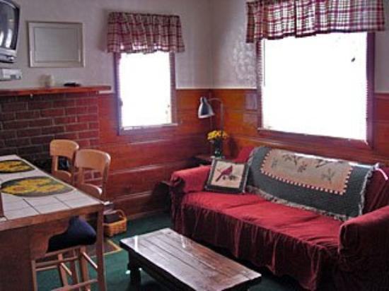 Three Pines Lodge: Guest Room