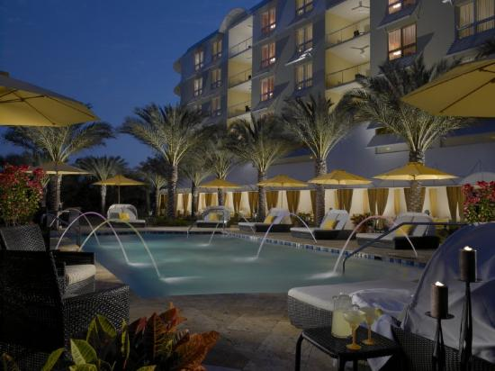 Hyatt Residence Club Sarasota, Siesta Key Beach: Siesta Night Pool