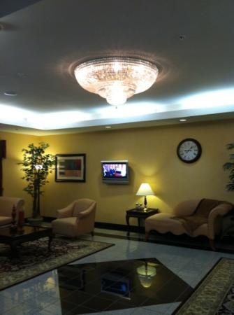 Comfort Suites Cincinnati Airport: The lobby