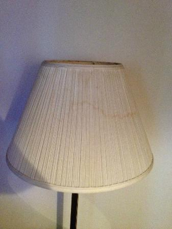 Hotel Rapids: Stains on Lamp Shade