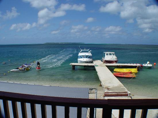 Bikini Island Club: 船着き場