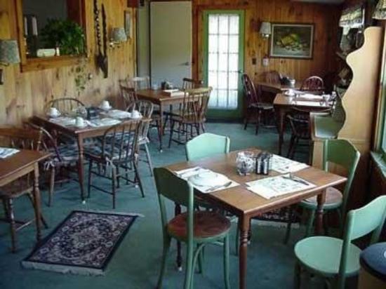Auberge de Stowe: Dining