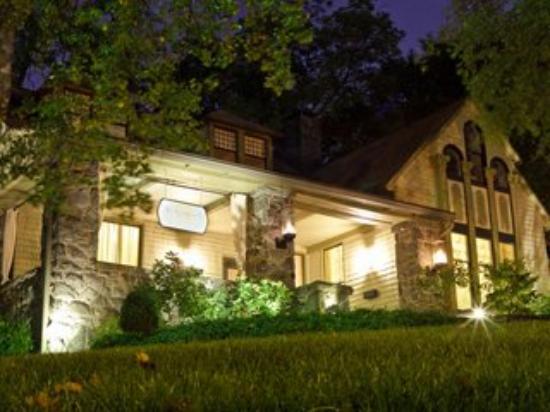 Stonehurst Place: Night Exterior