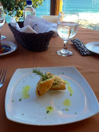 Club Regina Los Cabos: Appetizer at Inizio