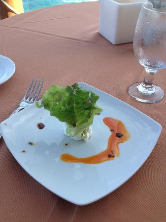 Club Regina Los Cabos: another delicious appetizer at Inizio