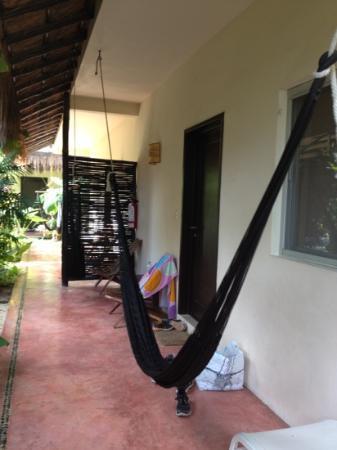 Villas Geminis Boutique Condo Hotel: hamac devant l'appartement