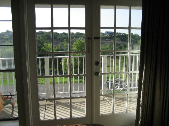 Hotel Alsace & Spa Resort: French doors to room balcony