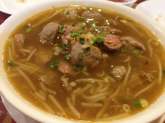 Thien Vietnamese: Thien especial beef soup with rice noodles