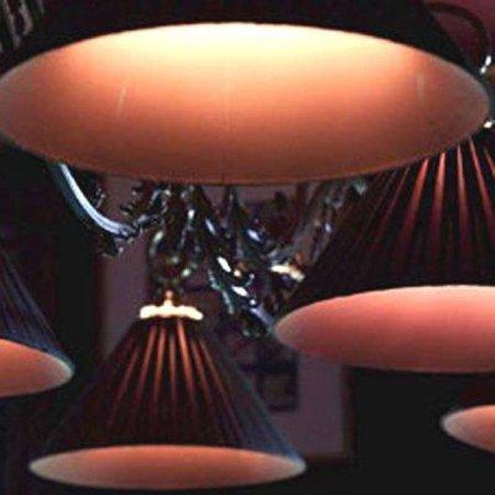 The Mansion on O Street: Billiard Room Lights photo: Cade Martin