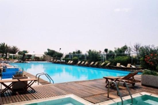 Hotel Le Focette: POOL VIEW