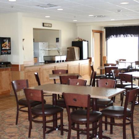 Wright Hotel : Breakfast Bar