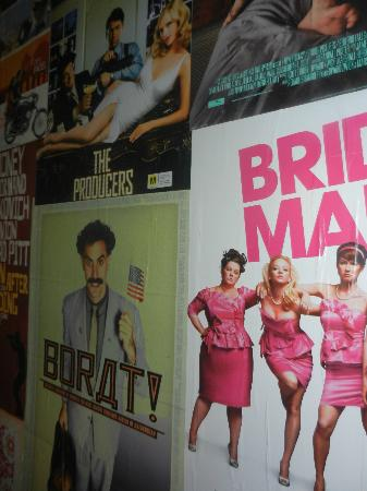Paradiso Cinema: Great Posters on the walls of all your favourite movies
