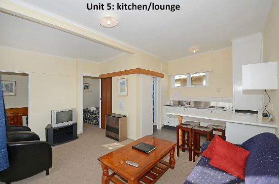 Trentham Motel on the Park: Unit 5: two bedroomed unit