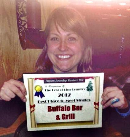 Buffalo Bar & Grill: Best of Payson, Best Place to Meet Singles