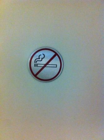 Bischofslinde: muy estrictos con fumar en la habitación