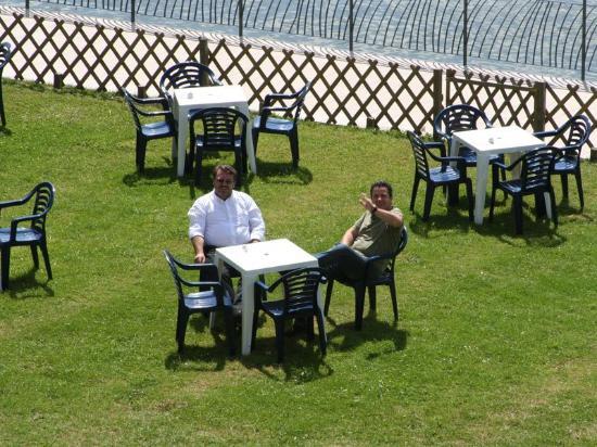 Normotel Restaurant La Marine : The Terasse