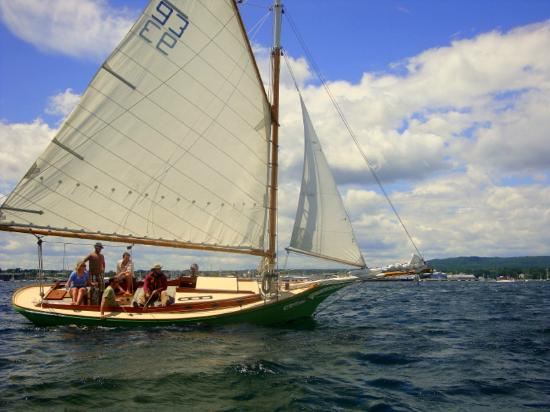 Rockland Sailing Co.: Lovely Day for a sail in Rockland Harbor.